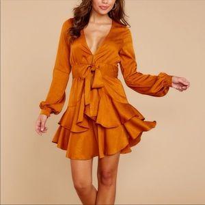 Red Dress Boutique orange dress